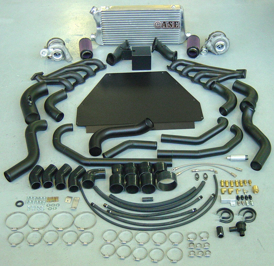 TWIN TURBO KIT STEALTH VE TT1000