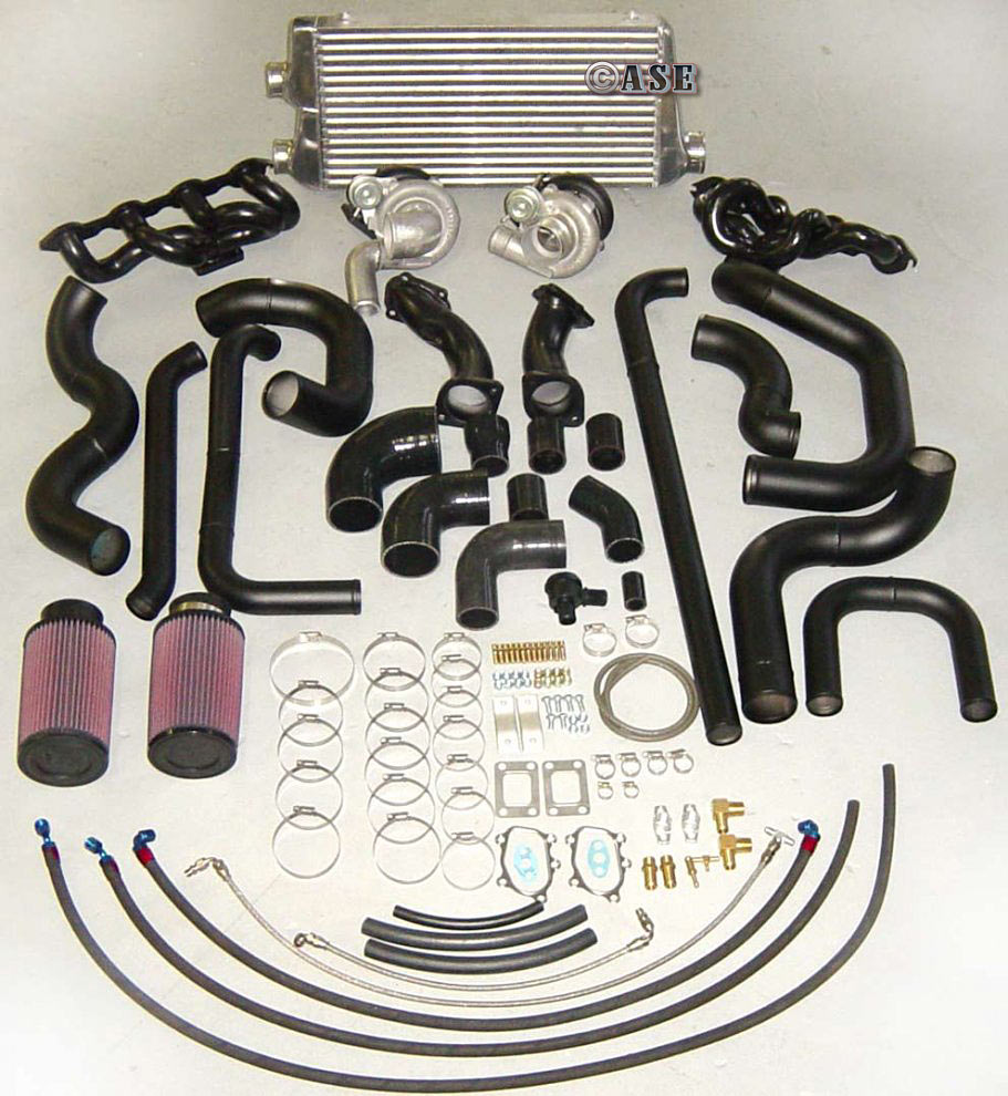 TWIN TURBO KIT STEALTH VT-VZ TT1000