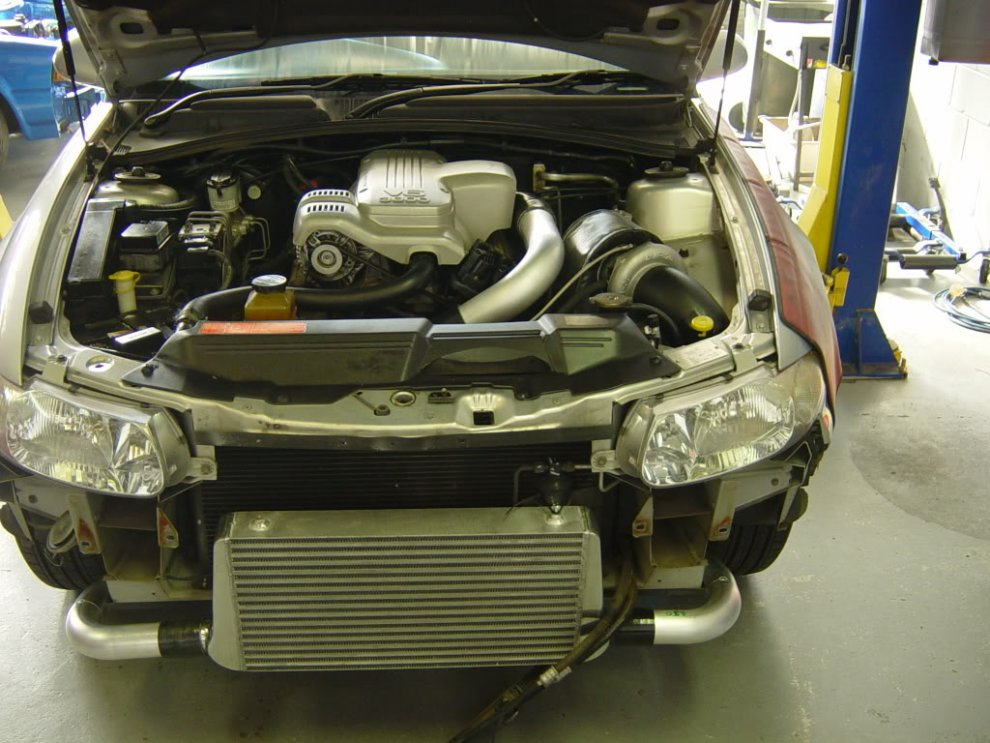 Ecotec V6 Commodore turbo kit - HOLDEN COMMODORE - VT-VZ