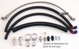 NISSAN RB30 HIGH MOUNT TURBO OIL FEED KIT